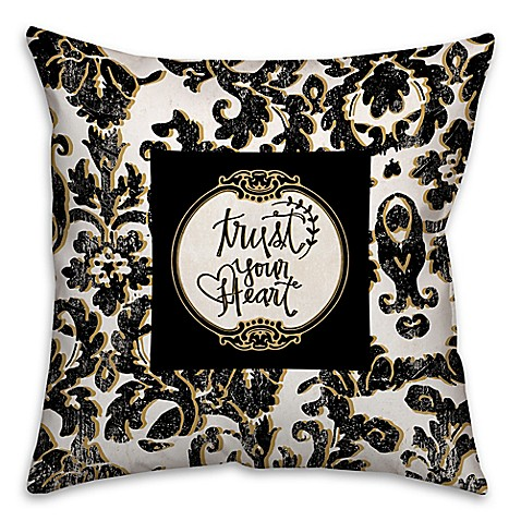 Black Throw Pillows Bed Bath And Beyond : Buy