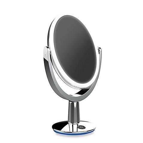 super star dual sided led vanity mirror bed bath beyond. Black Bedroom Furniture Sets. Home Design Ideas