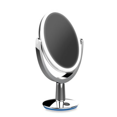 Vanity Planet Led Light Review : Super Star Dual-sided LED Vanity Mirror - Bed Bath & Beyond