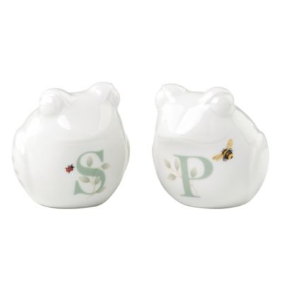 Lenox® Butterfly Meadow® Figural Frog Salt and Pepper Shakers