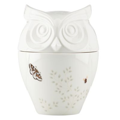 Lenox® Butterfly Meadow® Figural Owl Cookie Jar