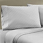 330-Thread Count 100% Cotton Sateen Full XL Sheet Set in Silver