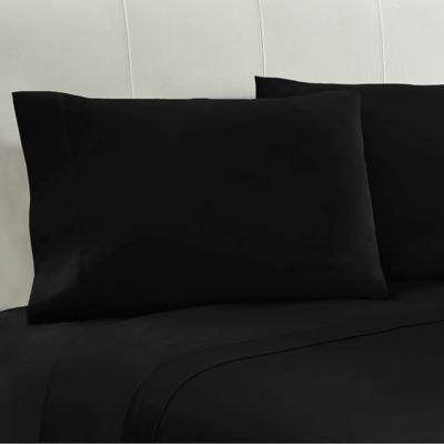 Black Cotton Pillowcase