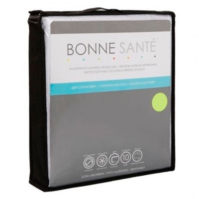 Bonne Santé Cotton Terry Queen Mattress Protector