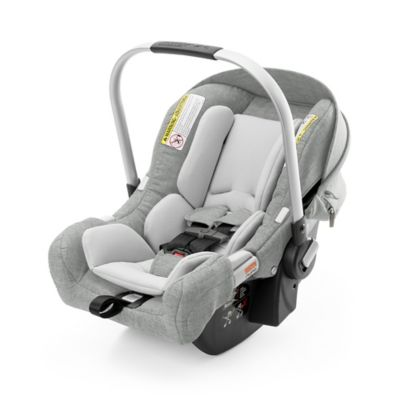 Stokke® PIPA™ by Nuna® Infant Car Seat with Base in Grey Melange