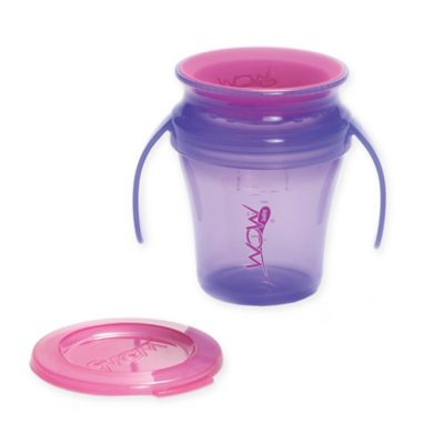 Wow Baby® Spill-Proof Sippy Cup in Purple