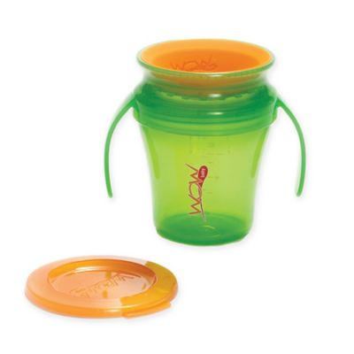 Wow Baby® Spill-Proof Sippy Cup in Green