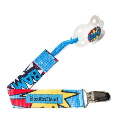 "BooginHead® Multicolored ""BAM"" PaciGrip"