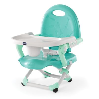 Chicco® Pocket Snack Portable Booster Seat in Mod Mint