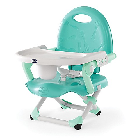Chicco 174 Pocket Snack Portable Booster Seat In Mod Mint