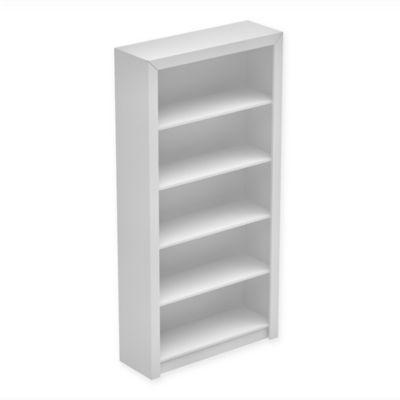 Manhattan Comfort Olinda Bookcase in Tobacco