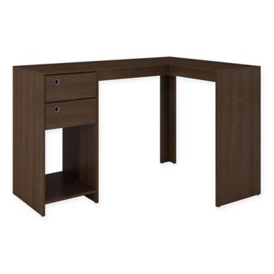 Manhattan Comfort Palermo Desk in Tobacco