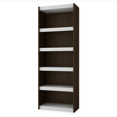 Manhattan Comfort Parana 3.0 Bookcase in Tobacco/White
