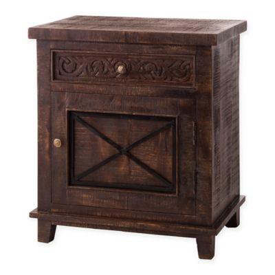 Hillsdale Pavio Cabinet in Dark Walnut