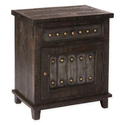 Hillsdale Pavio Cabinet in Dark Grey