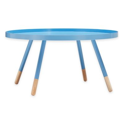 Verona Home Darley Cocktail Table in Blue
