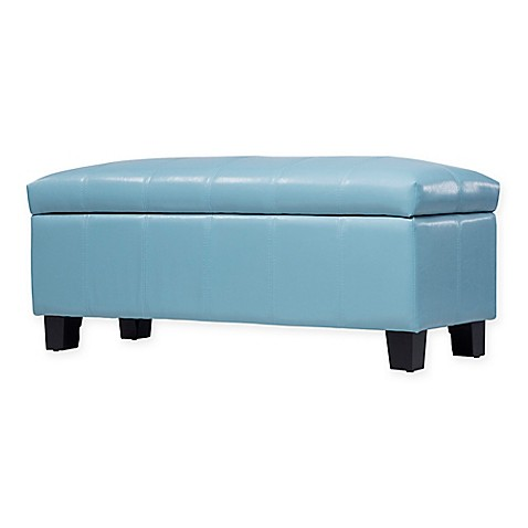 Buy Verona Home Parker Lift Top Storage Bench In Faux