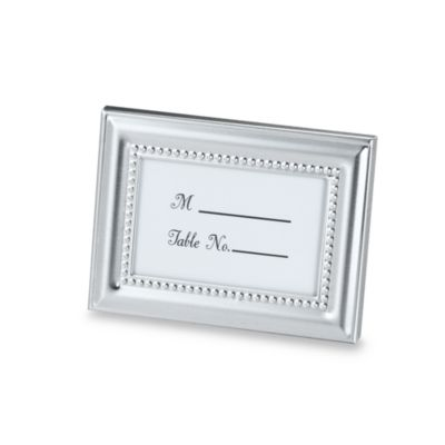 Kate Aspen® Beaded Photo Frame and Placeholder