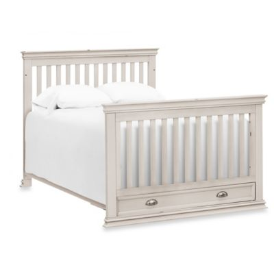 Franklin & Ben Full Size Bed Conversion Kit for Mason in Distressed White