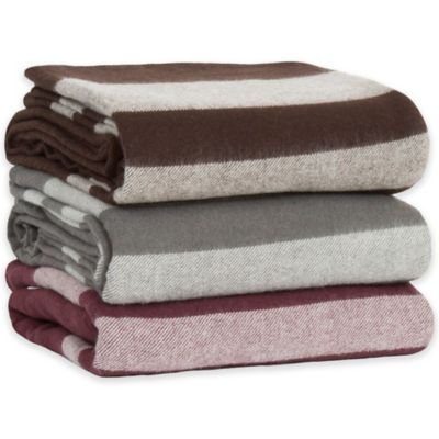Nottingham Home Twin Merino Wool Blend Blanket