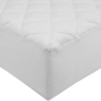 St. James Home 300-Thread Count Stain-Resistant Twin Mattress Pad