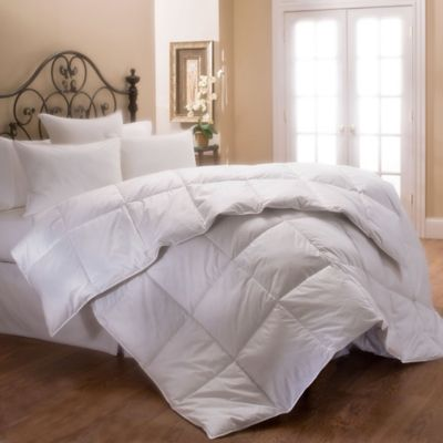 PrimaLoft® Twin Luxury Down Alternative Comforter in White