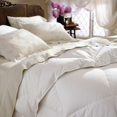 Restful Nights® Twin All-Natural Down Comforter in White