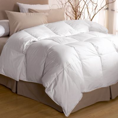 Restful Nights® Twin Premium Down Comforter in White