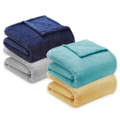 Yellow Polyester Blankets