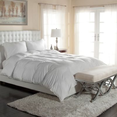 PrimaLoft® 400-Thread-Count Down Alternative Twin Comforter in White