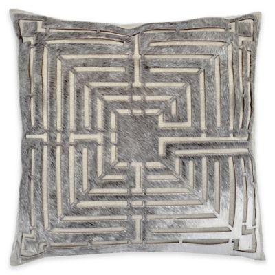 Callisto Home Hair on Hide Roxie Square Throw Pillow