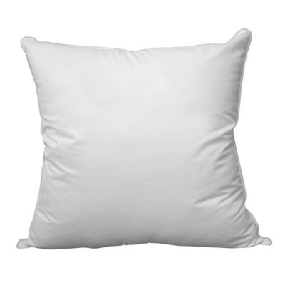 PrimaLoft® 400-Thread-Count Down Alternative European Pillow in White
