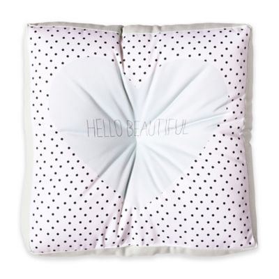 DENY Designs Allyson Johnson Hello Beautiful Square Floor Pillow