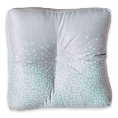 DENY Designs Iveta Abolina Hint of Mint Square Floor Pillow