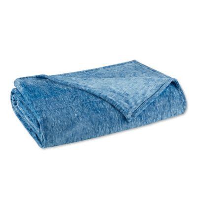 Blue Plush Bedding