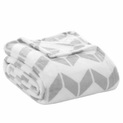 Grey/White Blankets