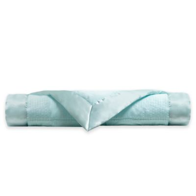 Madison Park King Cambria Down Alternative Blanket with 3M Scotchgard in Aqua