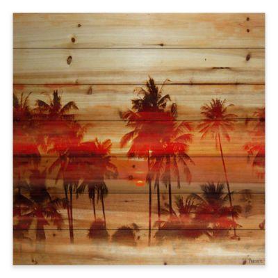 Parvez Taj Oshawa 24-Inch x 24-Inch Pine Wood Wall Art