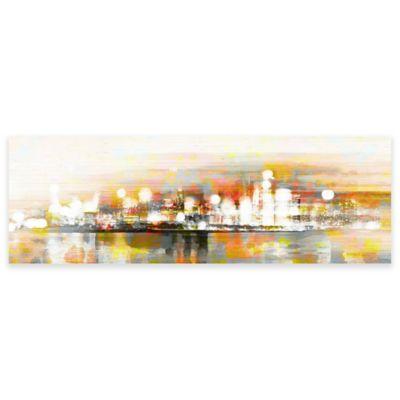 Parvez Taj Hong Kong 45-Inch x 15-Inch Canvas Wall Art