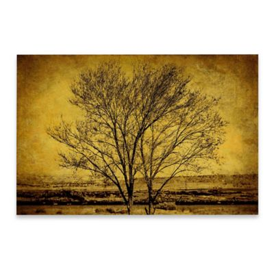 Marmont Hill Entwined Trees 45-Inch x 30-Inch Canvas Wall Art