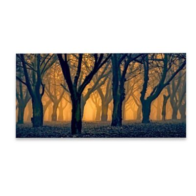 Marmont Hill Woods Aglow 36-Inch x 18-Inch Canvas Wall Art