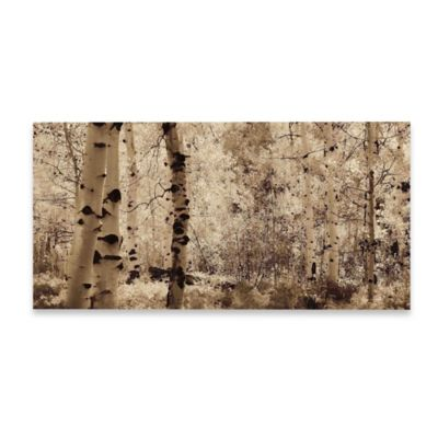 Marmont Hill Wisp of Gold 3 60-Inch x 30-Inch Canvas Wall Art