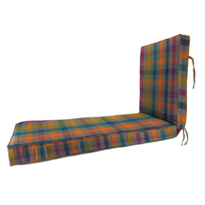 80-Inch x 23-Inch Chaise Lounge Cushion in Sunbrella® Connect Twilight