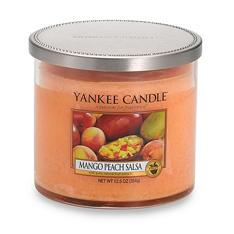 Yankee Candle® Mango Peach Salsa Medium Lidded Tumbler Candle