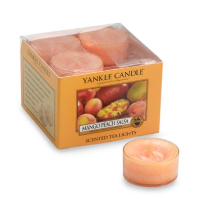 Yankee Candle® Mango Peach Salsa Tea Light Accent Candles (Box of 12)