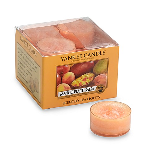 Yankee Candle® Mango Peach Salsa Tea Light Accent Candles (Box of 12)