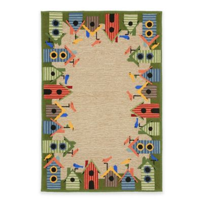 Trans-Ocean Border Indoor/Outdoor Rug Area Rugs
