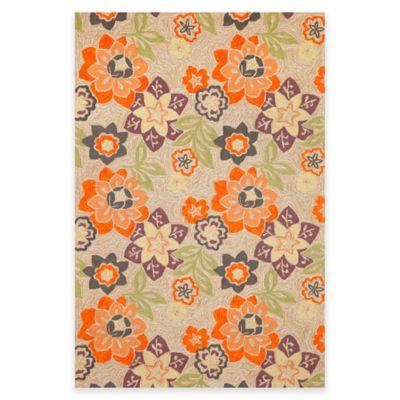 3 6 x 5 6 Floral Room Rug