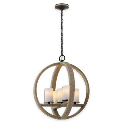 Uttermost Gironico 5-Light Round Pendant Light