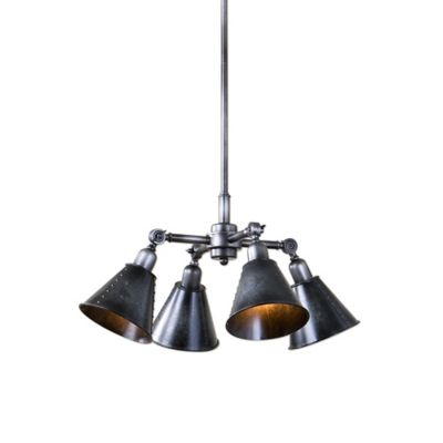 Uttermost Fumant 4-Light Industrial Pendant